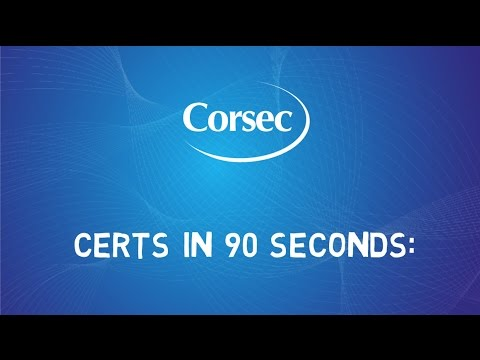 Learn Security Certifications in 90 Seconds