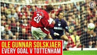Solskjaer Goals v Spurs | Manchester United v Tottenham Hotspur | Premier League 2018/19