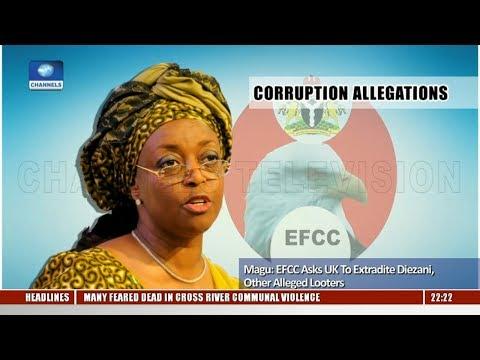 EFCC Boss, Magu Reveals Plans To Extradite Diezani 04/12/18 Pt.2 |News@10|