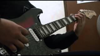 seksi seksi-kamikaze tower session guitar cover