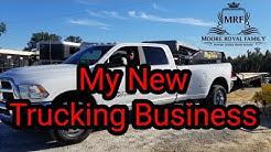 Just Started My Hot Shot Trucking Business, Million Dollar Insurance, Donalsonville, Hurricane