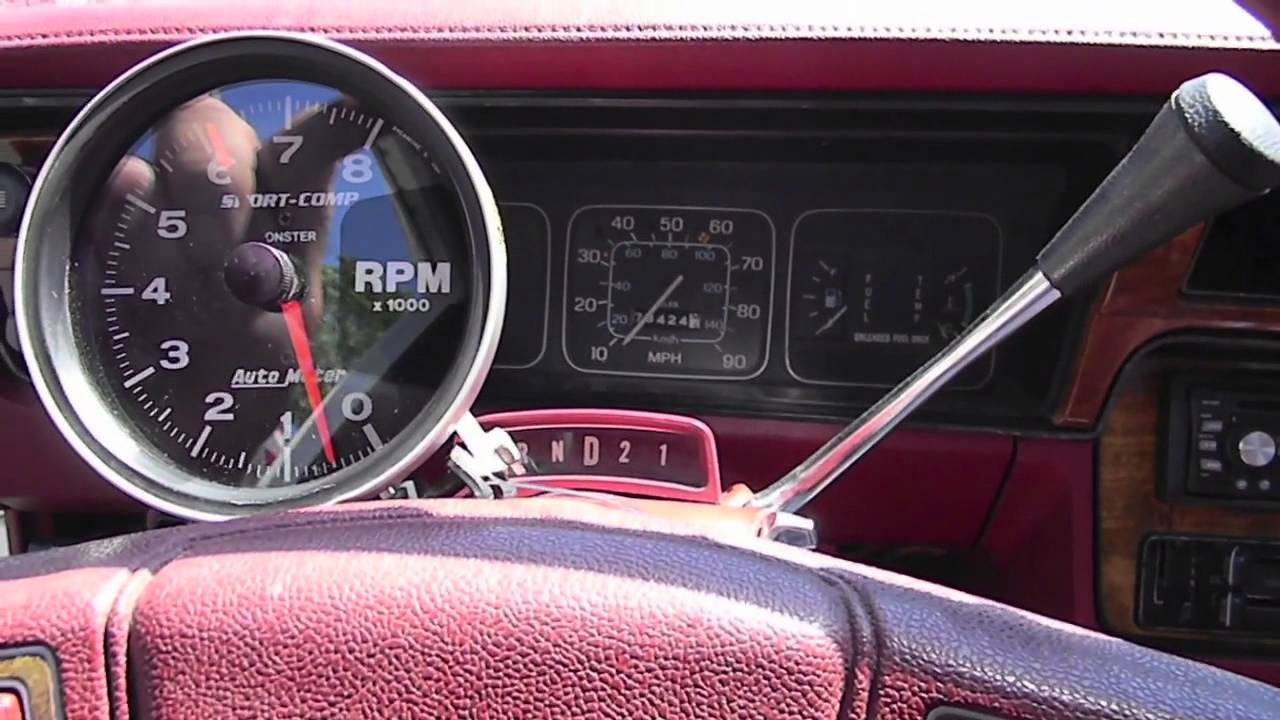 Auto Meter Monster Tach Install - YouTube