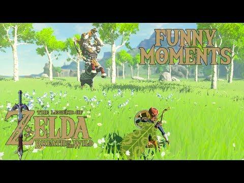 Master Mode Funny Moments The Legend Of Zelda Breath Of