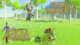 MASTER MODE FUNNY MOMENTS - The Legend of Zelda: Breath of the Wild