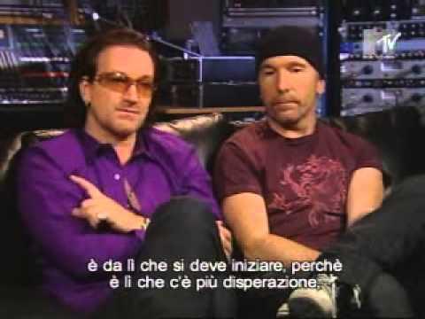 U2 in Dublin - MTV Italy, 24 december 2004
