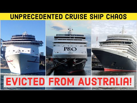 Why Are There NO CRUISE SHIPS In Australia In 2020? Australia Unprecedented Cruise Ship Eviction!