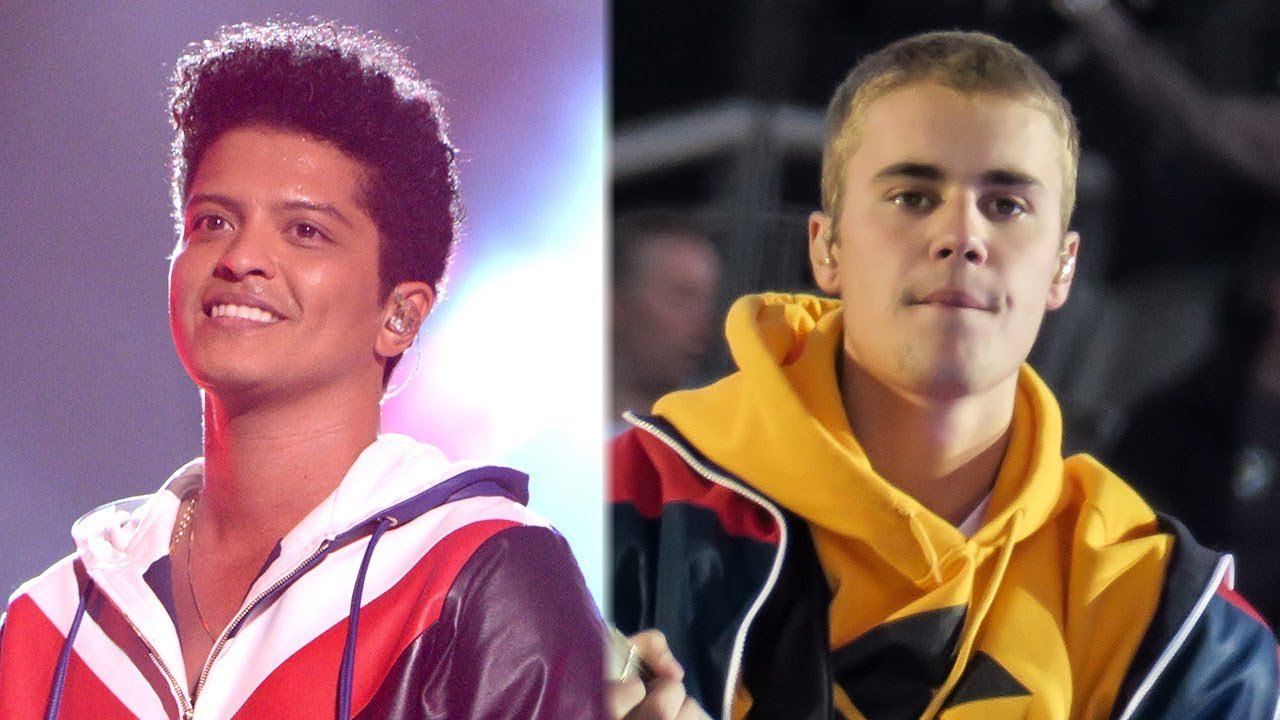Bruno Mars And Justin Bieber 2017 AMA Nominations A...