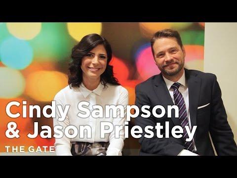 Cindy Sampson & Jason Priestley talk 'Private Eyes'