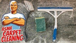 ASMR| Carpet Cleaning (Brushing, Scrubbing & Scraping) | Carpet Washing | No Talking