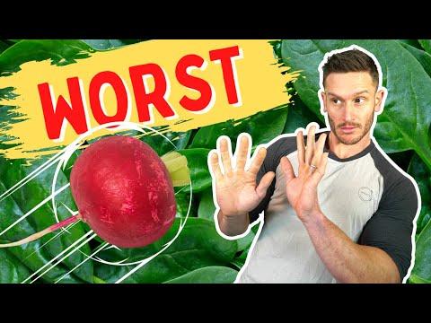 Avoid The 7 Worst Vegetables on Keto