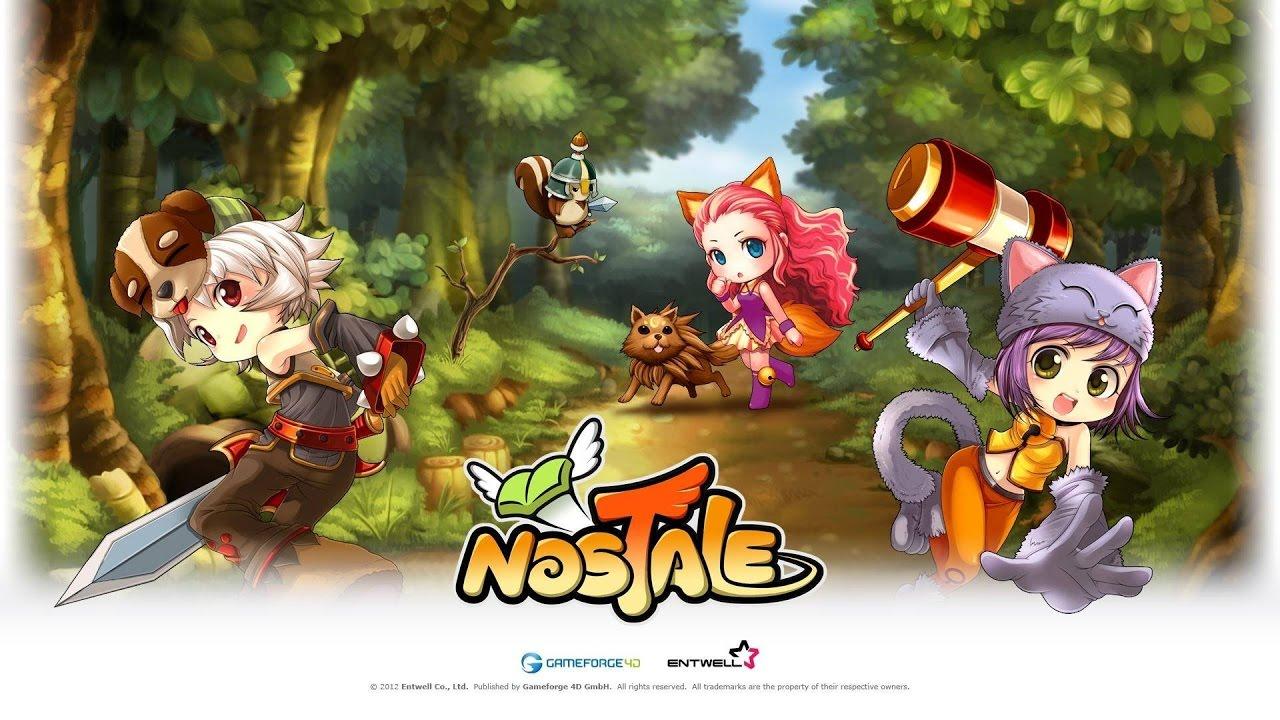 nostale senza gameforge live