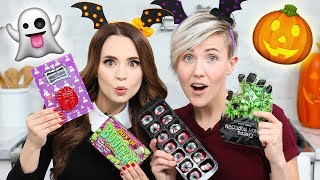 Download TRYING FUN HALLOWEEN CANDY w/ Hannah Hart! Mp3 and Videos