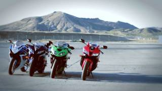 2011 supersport track shootout can suzuki s new gixxer spoil the 600cc party