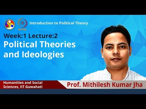 Lec 2: Political Theories And Ideologies