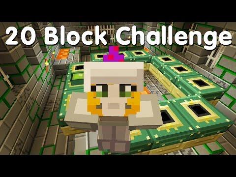 Minecraft PS4 - 20 Block Challenge - I Found It!  (33)