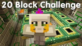 Minecraft PS4 - 20 Block Challenge - I Found It!  (33)