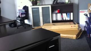 Nbf L Shaped Desk Assembly Service Video In Dc Md Va By Furniture Assembly Experts Llc