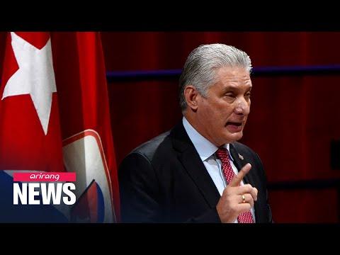 Cuba's Communist Party chooses Miguel Diaz-Canel as leader, launching Post-Castro Era