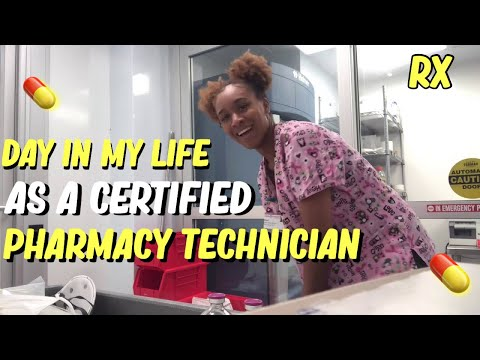 My Life As A Certified Pharmacy Technician