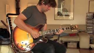 1968 Gibson ES-345 Part2 (checking out varitone sounds)