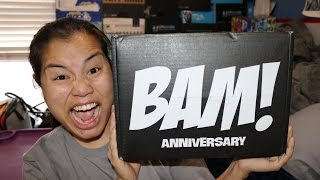 2017 January BAM! Box Unboxing - [Anniversary]