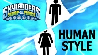 skylanders human swap force