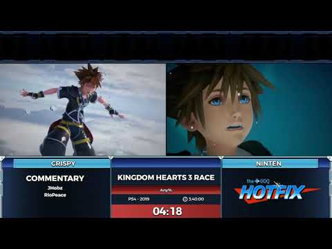 Kingdom Hearts 3 Race Presented By GDQ Hotfix