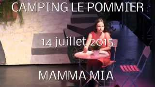 Camping le pommier 2015