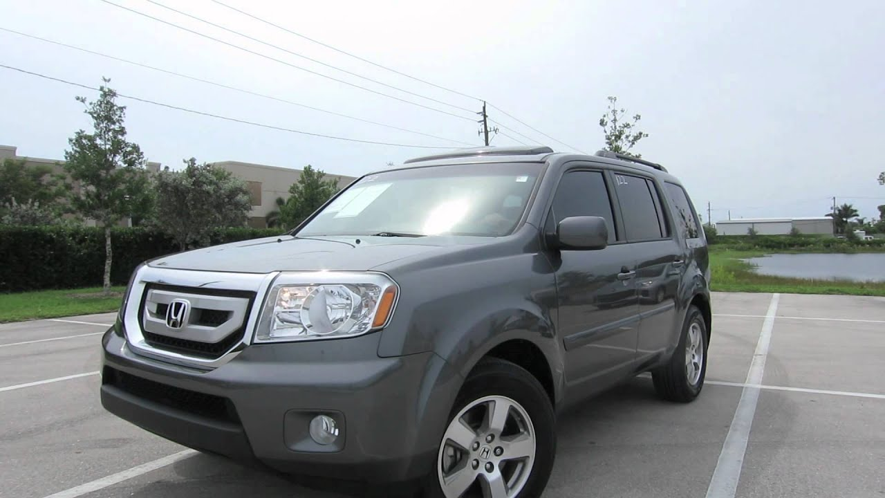 2011 Honda Pilot EX in Polished Metal Used Cars at Naples Dodge