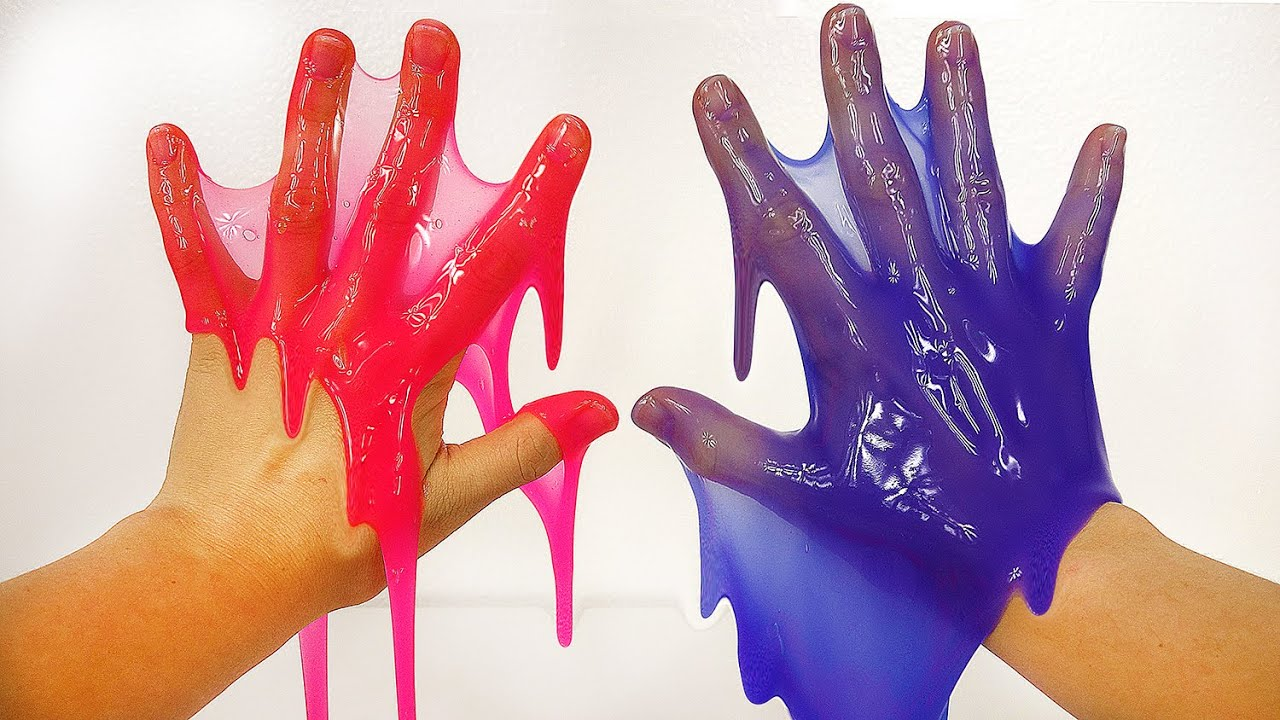 Learn Colors With Slime Surprise Toys For Toddlers