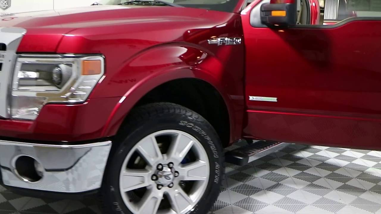 Accesorios Para Trocas Ford F150 >> 2013 Ford F 150 Lariat 4x4 Stock Gh254612a