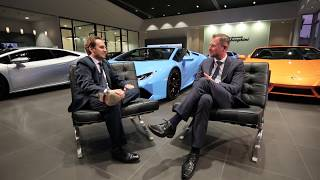 Lamborghini Melbourne introduce Andrea Ruggiero, Lamborghini Australia Country Manager