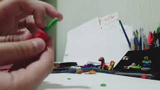 Видеоурок как сделать цветок из пластилина