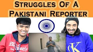 Indian reaction on Struggles Of A Pakistani Reporter | Rakx Production & Our Vines | Swaggy d