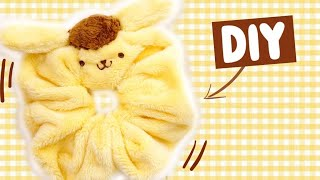 pom pom purin scrunchie diy *kawaii fashion* yasss