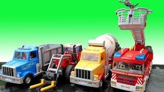중장비 자동차 장난감 조립놀이 포크레인 구출놀이 Excavator Truck Car Toy for Kids