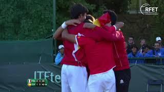 2018 Copa Davis Junior Final ESP 2-1 FRA