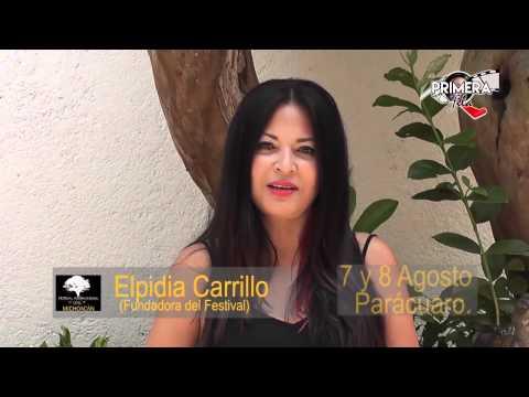 LA ACTRIZ ELPIDIA CARRILLO, DIRIGIRÁ EL 1ER  FESTIVAL DE CINE DE MICHOACÁN