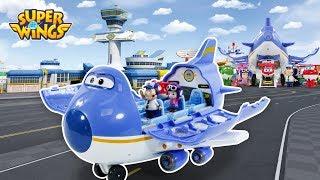 슈퍼윙스 비행기 만들기 뽀로로 비행기 로보카폴리 비행기 놀이 장난감 동영상