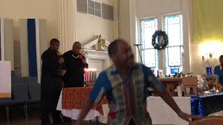 Praise dance and song for Kwanza - 29 December 2019
