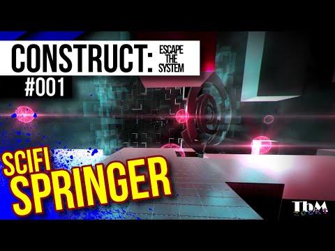 Construct: Escape The System #001 — Gefangen im SYTEM [Let's Play]  