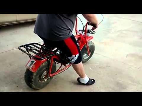 Coleman ct200u mini bike ride