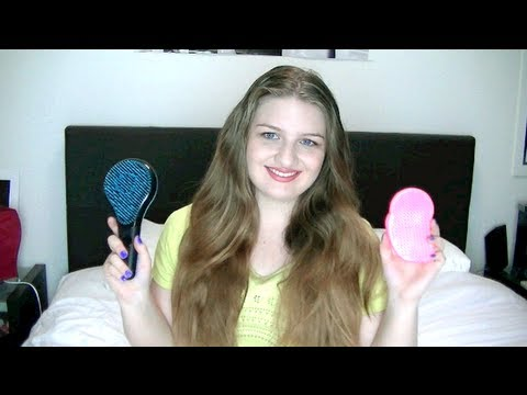 hair 'brush ' tangle teezer