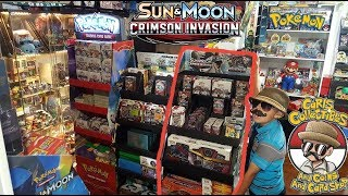 Crimson Invasion Launch Party! ALL The NEWEST POKEMON CARDS At Carls! BOOSTER BOX BATTLE Opening pt1 thumbnail