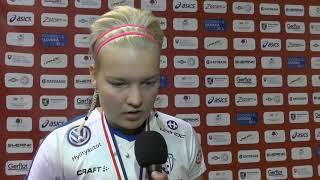 Women's WFC 2017 - Post - Match interviews Sweden v Finland