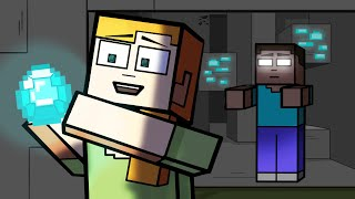 Minecraft Logic 3: Herobrine | Cartoon Animation