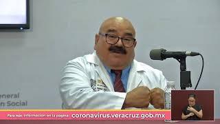 #EnVivo | Actualización en Veracruz sobre Coronavirus COVID-19. | 01 de Agosto del 2020