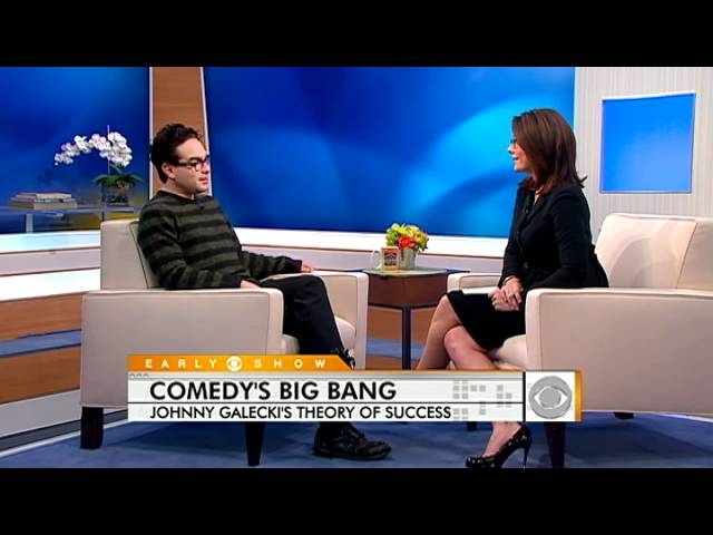 """Johnny Galecki Talks \""""Big Bang Theory\"""""""