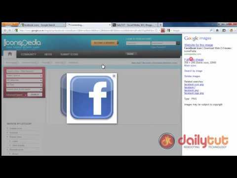 How to: Create a facebook desktop icon