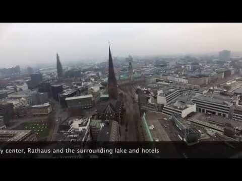 Winter in Hamburg -  by Drone